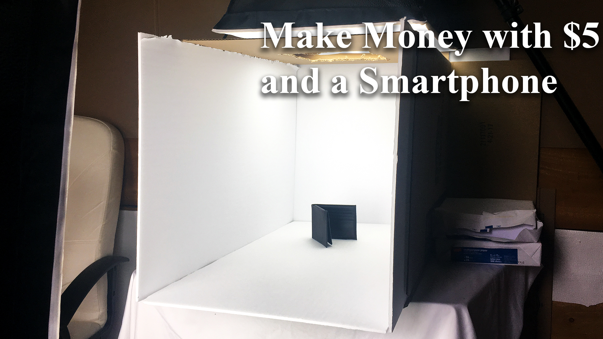 How to Make Money with only $5 and your Smartphone