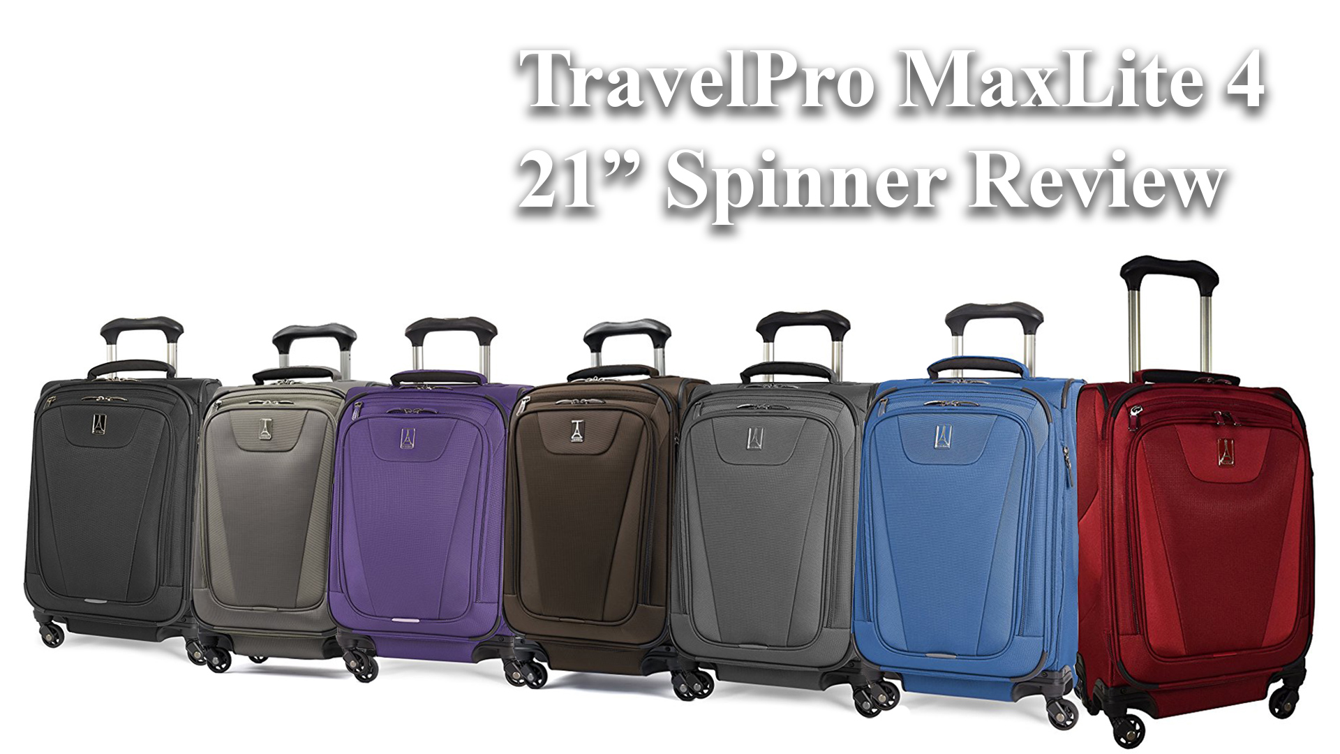 TravelPro Maxlite 4 Expandable 21 Inch Spinner Suitcase Review